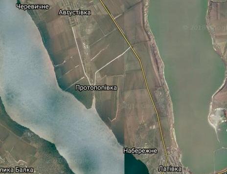 Августівcька с.р. карта