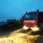 Масштабна пожежа на схилах Куяльницького лиману